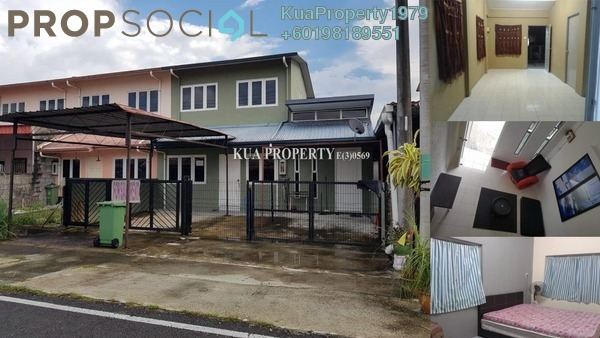 Terrace For Sale in Taman Desa Ilmu, Kota Samarahan Freehold Semi Furnished 4R/2B 290k