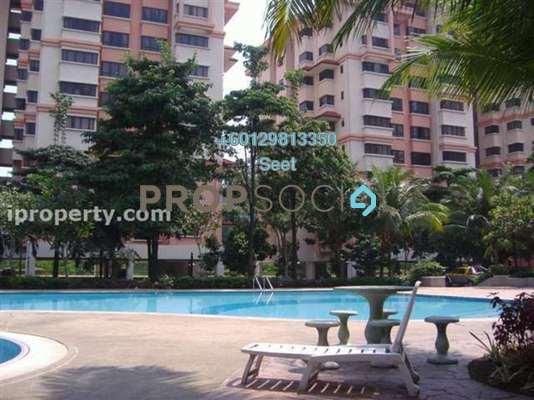 Condominium For Sale in Sunway Sutera, Sunway Damansara Freehold Semi Furnished 3R/2B 600k