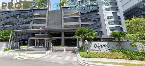Condominium For Rent in Chymes @ Gurney, Keramat Freehold Fully Furnished 3R/2B 2.7k