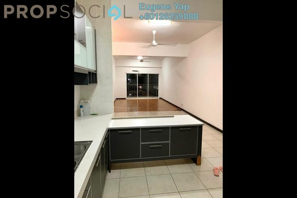Condominium For Sale in Rosvilla, Segambut Freehold Semi Furnished 3R/2B 530k