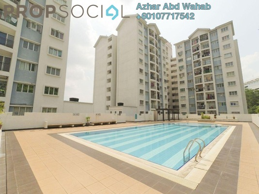 Condominium For Sale in Nusa Mewah, Cheras Freehold Unfurnished 3R/2B 290k