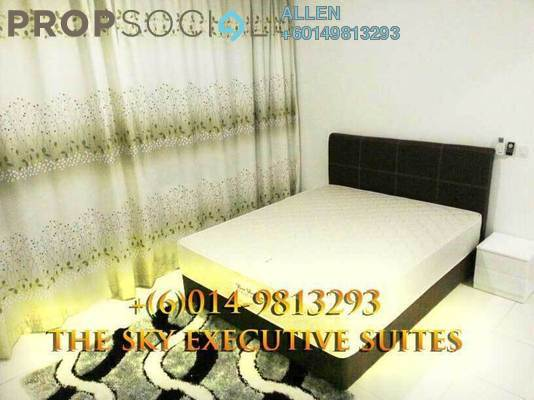 Condominium For Rent in The Sky Executive Suites, Bukit Indah Freehold Fully Furnished 2R/2B 1.2k