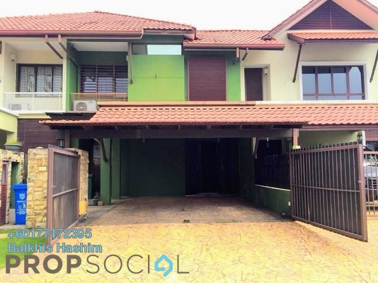 Link For Sale in Tropika, Bukit Jelutong Freehold Semi Furnished 4R/4B 980k
