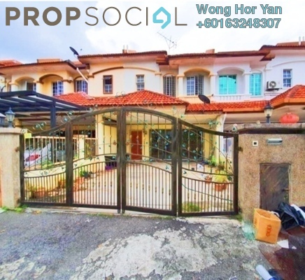 Terrace For Sale in Mutiara Puchong, Puchong Freehold Unfurnished 4R/3B 670k