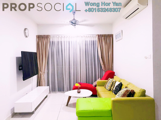 Serviced Residence For Sale in Glomac Damansara Residences, TTDI Freehold Fully Furnished 3R/2B 858k