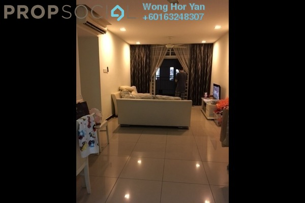 Condominium For Sale in Midfields, Sungai Besi Freehold Semi Furnished 3R/2B 488k