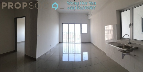 Serviced Residence For Sale in The Wharf, Puchong Freehold Unfurnished 2R/1B 300k