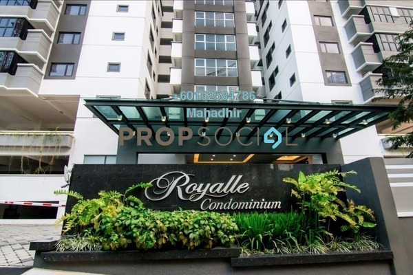 Condominium For Sale in Royalle Condominium, Segambut Freehold Semi Furnished 2R/3B 649k