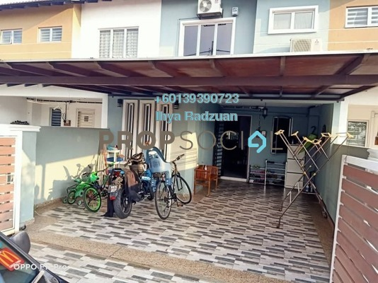 Terrace For Sale in Topaz 3, Bandar Saujana Putra Freehold Unfurnished 4R/3B 440k