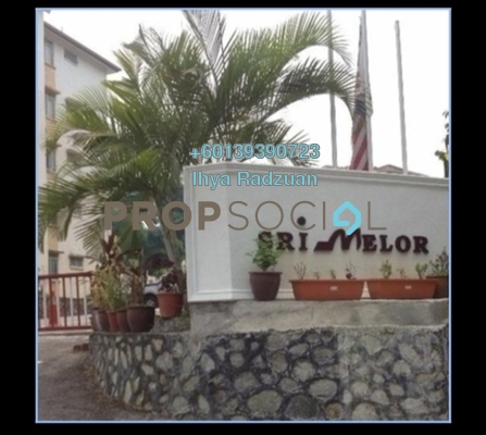 Apartment For Sale in Ukay Perdana, Ukay Freehold Unfurnished 3R/2B 240k