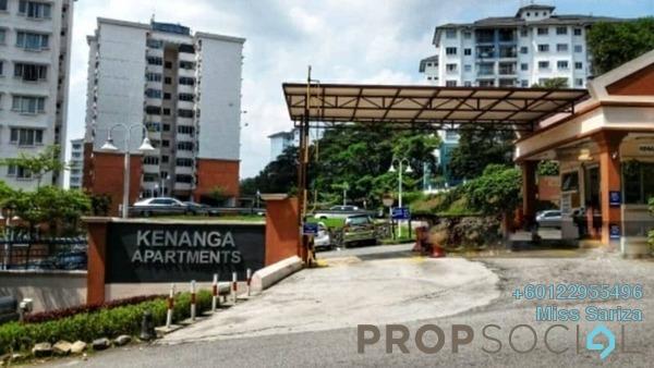Apartment For Sale in Kenanga Apartment, Pusat Bandar Puchong Freehold Unfurnished 3R/2B 330k
