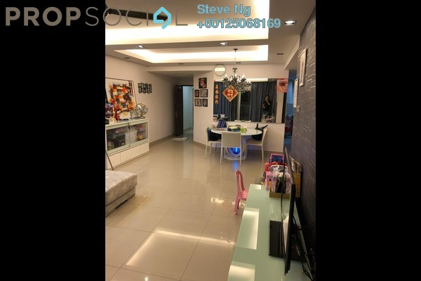 Condominium For Sale in Ampang Putra Residency, Ampang Freehold Semi Furnished 3R/2B 490k