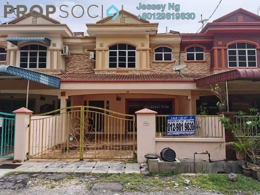 Terrace For Rent in Taman Saikat, Ipoh Freehold Semi Furnished 4R/3B 1.2k