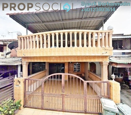 Terrace For Sale in Taman Koperasi Polis Fasa 2, Sentul Freehold Unfurnished 4R/3B 469k