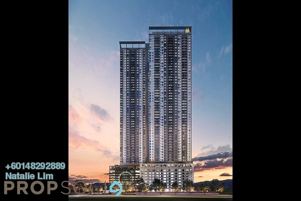 Condominium For Sale in M Luna, Kepong Leasehold Unfurnished 2R/2B 373k