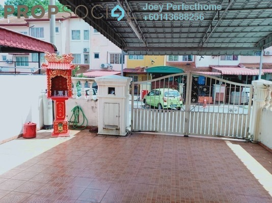 Terrace For Sale in Taman Bukit Emas, Balakong Freehold Unfurnished 4R/3B 390k