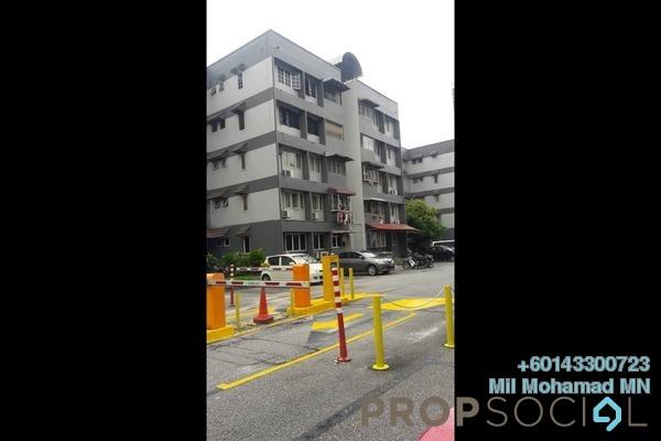 Apartment For Sale in Baiduri Apartment, Desa Pandan Freehold Semi Furnished 3R/2B 360k