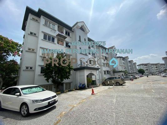 Apartment For Sale in Keranji Apartment, Subang Jaya Freehold Semi Furnished 3R/2B 420k