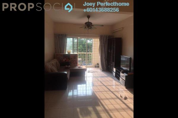 Condominium For Sale in Mount Karunmas, Balakong Freehold Semi Furnished 2R/2B 225k