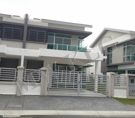 Semi-Detached For Rent in Canary Garden, Bandar Bestari Freehold Unfurnished 4R/4B 1.6k