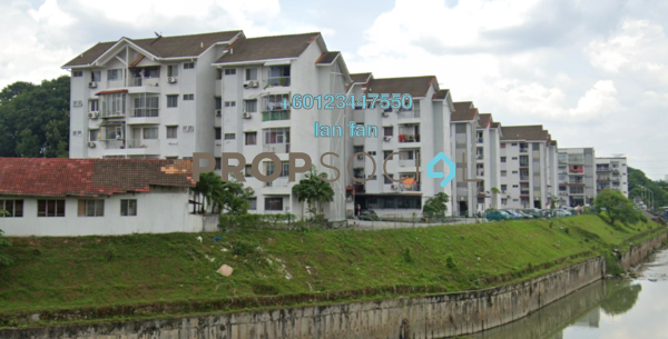 Apartment For Sale in Lily & Rose Apartment, Petaling Jaya Freehold Semi Furnished 3R/2B 365k