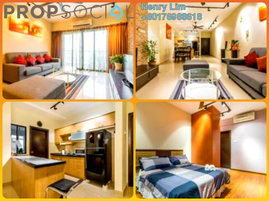 Serviced Residence For Rent in Saville Residence, Old Klang Road Freehold Semi Furnished 3R/3B 2.2k