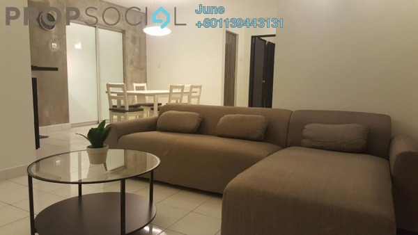 Apartment For Sale in Aman Dua, Kepong Freehold Semi Furnished 3R/2B 340k