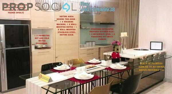 Serviced Residence For Sale in Eve Suite, Ara Damansara Freehold Fully Furnished 2R/2B 670k