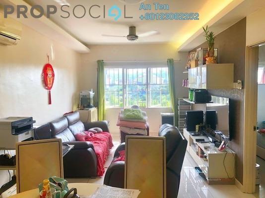 Apartment For Sale in The Lumayan, Bandar Sri Permaisuri Freehold Semi Furnished 3R/2B 370k