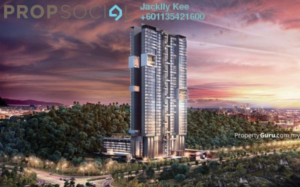Condominium For Sale in Secoya Residences, Bukit Kerinchi Freehold Semi Furnished 2R/3B 710k