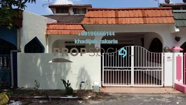 Terrace For Sale in Taman Merdeka Jaya, Batu Berendam Freehold Semi Furnished 3R/2B 265k