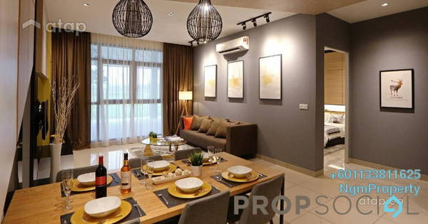 Condominium For Rent in Summer Suites, KLCC Freehold Fully Furnished 2R/2B 2.7k