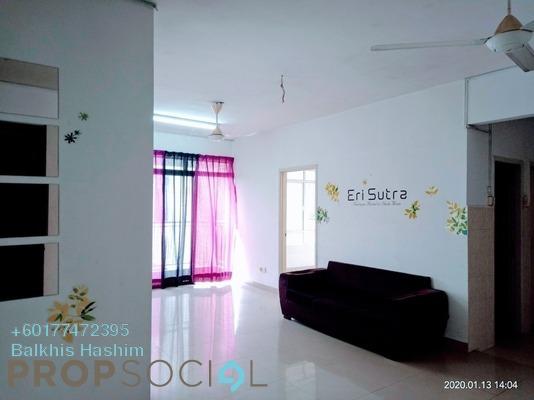 Condominium For Sale in Prima U1, Shah Alam Freehold Semi Furnished 3R/2B 320k
