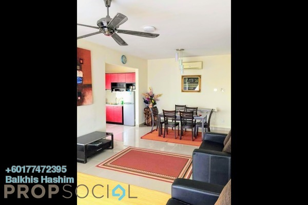 Condominium For Sale in Prima U1, Shah Alam Freehold Semi Furnished 3R/2B 385k