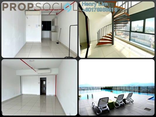 Duplex For Rent in 3 Towers, Ampang Hilir Freehold Unfurnished 0R/2B 1.7k