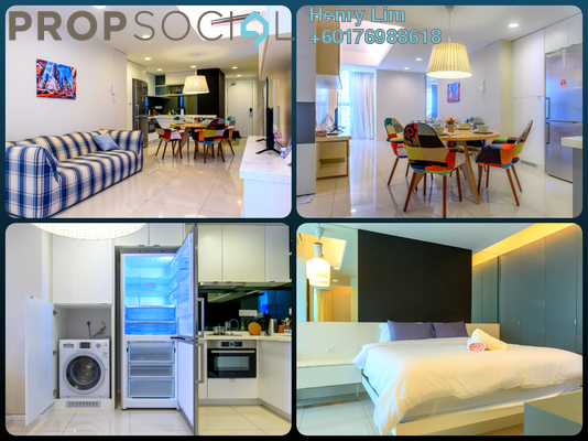 Condominium For Rent in VERVE Suites, Old Klang Road Freehold Fully Furnished 2R/2B 2.2k