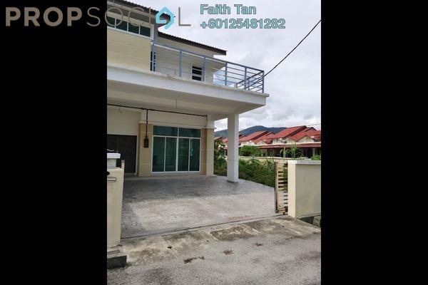 Semi-Detached For Sale in Prestige III, Balik Pulau Freehold Unfurnished 4R/3B 840k