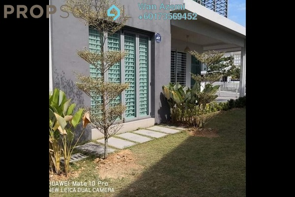 Bungalow For Rent in Frangipani Villas, Kota Seriemas Freehold Semi Furnished 4R/5B 3k