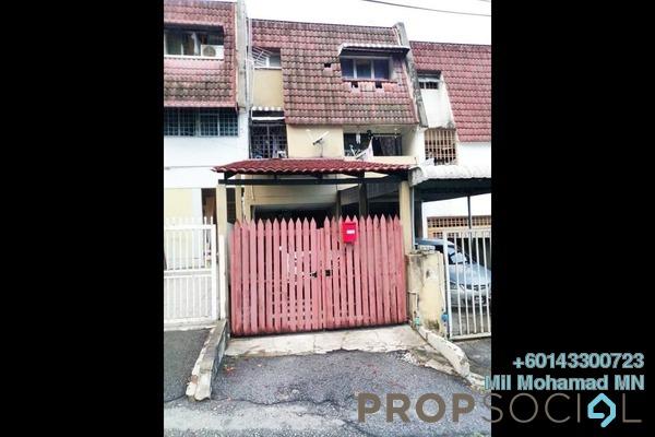 Townhouse For Sale in Segambut Jaya, Kuala Lumpur Freehold Semi Furnished 3R/3B 460k