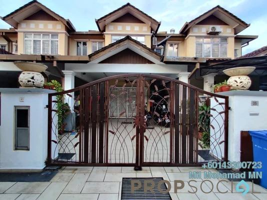 Terrace For Sale in Bandar Nusa Rhu, Shah Alam Freehold Semi Furnished 4R/3B 655k