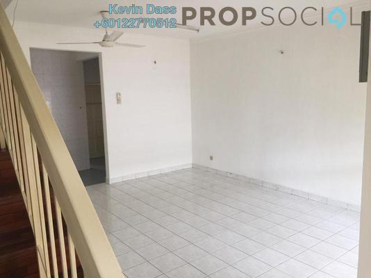 Terrace For Sale in PU10, Bandar Puchong Utama Freehold Semi Furnished 4R/3B 480k