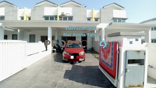 Terrace For Sale in Cherry, Hillpark Freehold Semi Furnished 4R/3B 490k