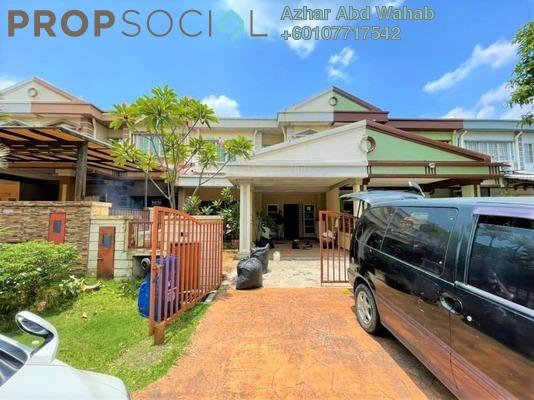 Terrace For Sale in Bukit Bandaraya, Shah Alam Freehold Unfurnished 4R/3B 660k