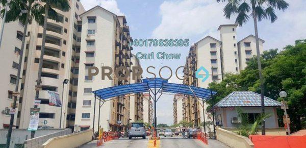 Apartment For Sale in Vista Lavender, Bandar Kinrara Leasehold Semi Furnished 3R/2B 235k