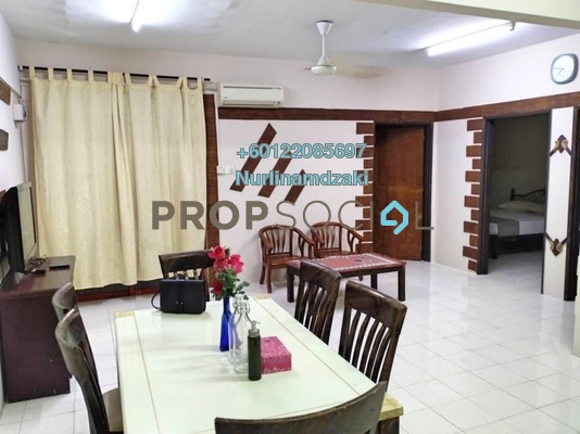 Apartment For Sale in Permai Putera, Ampang Freehold Semi Furnished 3R/2B 340k