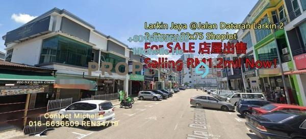 Shop For Sale in Larkin Indah, Johor Bahru Freehold Unfurnished 0R/0B 1.2m