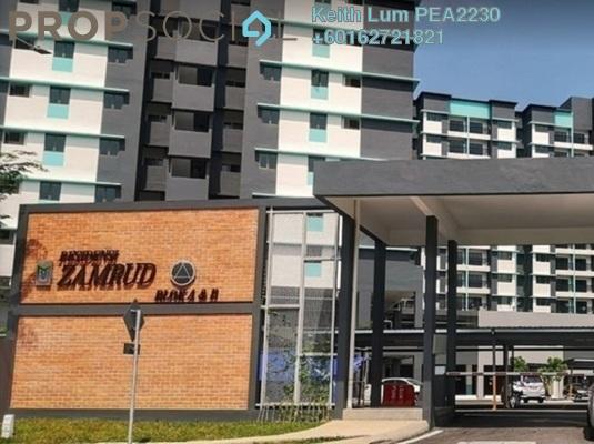 Condominium For Rent in Zamrud Residensi, Kajang Freehold Semi Furnished 3R/2B 1.2k