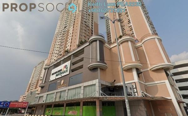 Condominium For Rent in Rhythm Avenue, UEP Subang Jaya Freehold Semi Furnished 1R/1B 1k