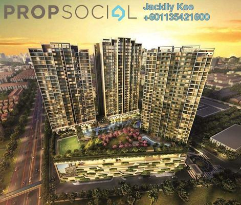 Serviced Residence For Sale in Greenfield Residence, Bandar Sunway Leasehold Unfurnished 2R/1B 400k