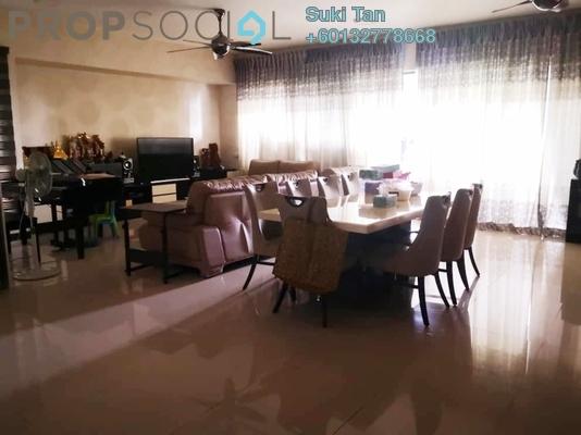 Condominium For Sale in Azelia Residence, Bandar Sri Damansara Freehold Semi Furnished 3R/4B 1.35m